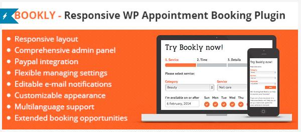 Responsive booking plugin