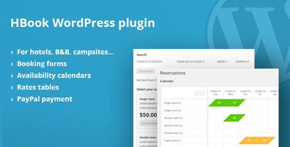 Hotel Booking Plugin For WordPress