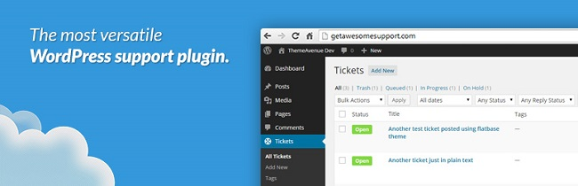 WordPress Support Plugin