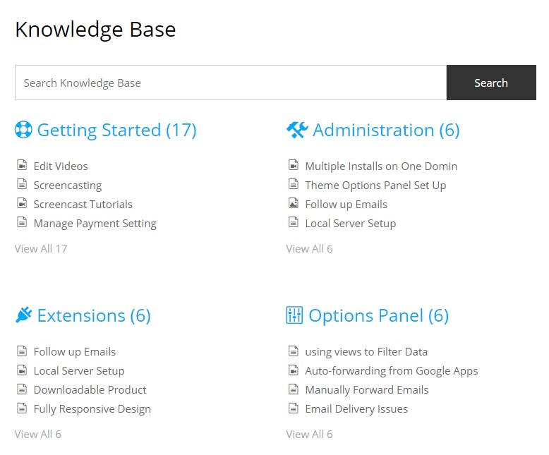 PressApps Knowledge Base Helpdesk