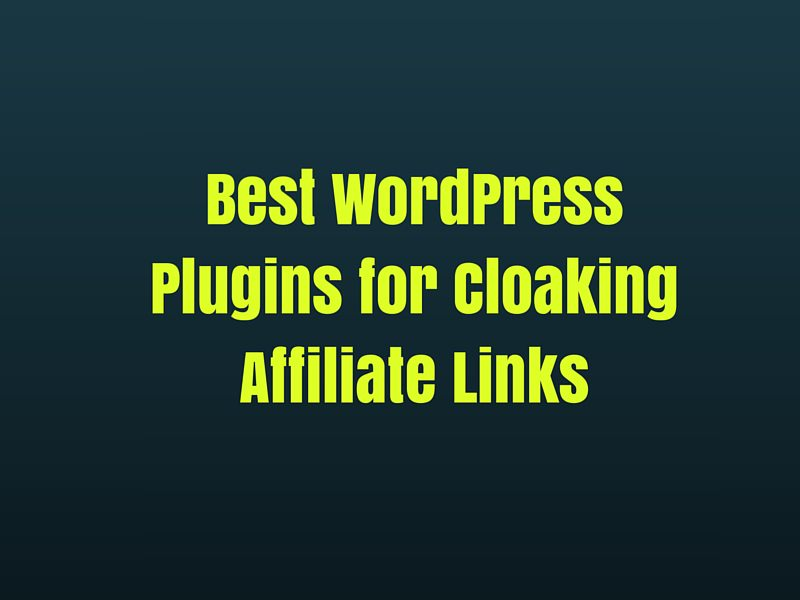 Best WordPress Plugins for Cloaking Affiliate Links
